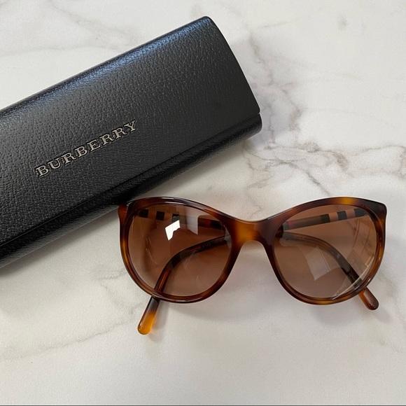 BURBERRY B 4145 Tortoise Sunglasses